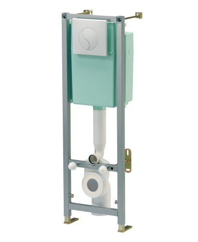 Siamp Mounting Frame including Cistern for Wall Hung Toilet