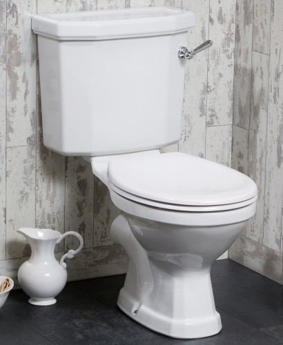 Twyford Clarice Close Coupled Toilet & Seat