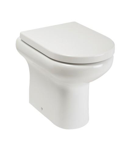 Compact Rimless Standard Height BTW WC