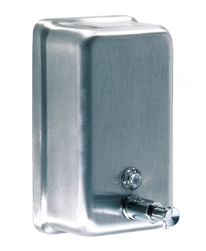 Mediclinics Verticle Soap Dispenser Stainless Steel