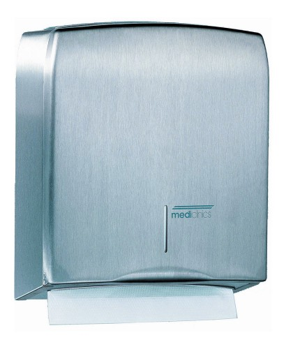 Mediclinics Paper Towel Dispenser Stainless Steel