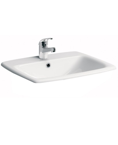 E100 Square 550 Countertop Basin