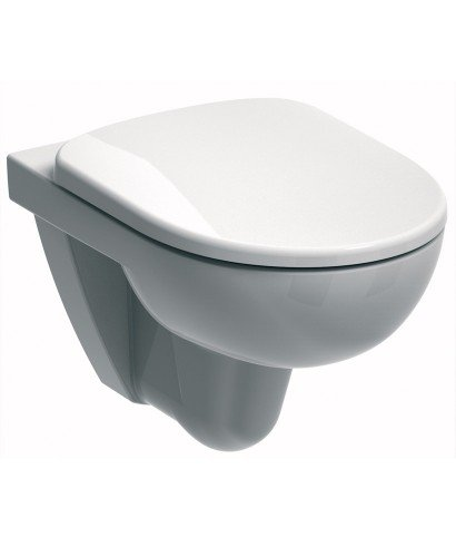 E100 Round Wall Hung Toilet & Standard Seat