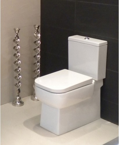 Florence Fully Shrouded Close Coupled Toilet & Soft Close Seat