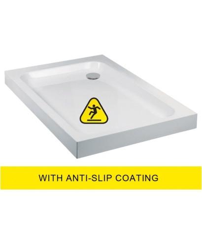 JT Ultracast 1000x900 Rectangle Shower Tray - Anti Slip