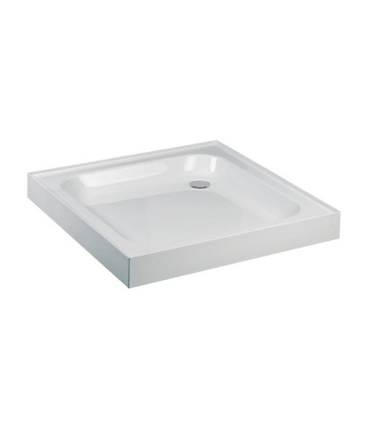 JT Ultracast 1000 Square 4 Upstand Shower Tray