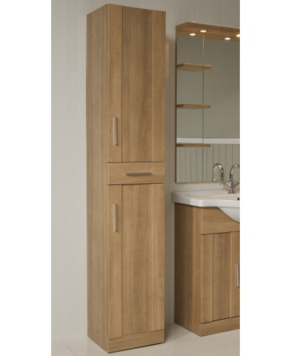 Oslo Oak Tall Storage Unit