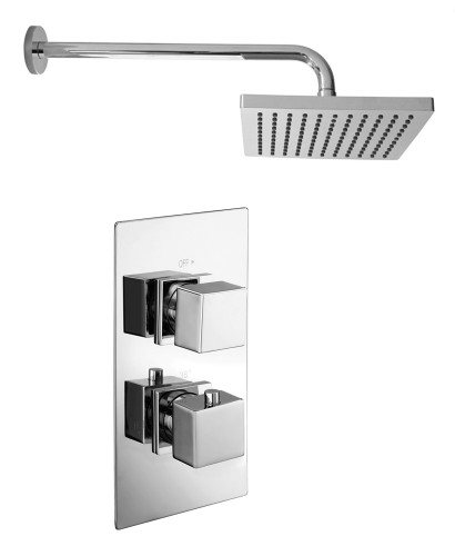 PICTOR Dual Shower Valve & Kelda Shower Head