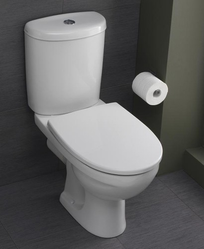 Twyford Refresh Close Coupled Toilet & Soft Close Seat