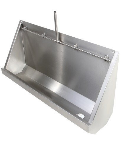 Fife Trough Urinal Exposed Pipework 3050mm RH Outlet