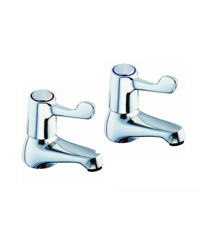 Sola Lever Action Basin Taps