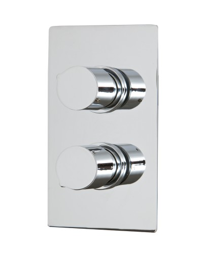 Tristan Thermostatic Shower Valve Rectangle