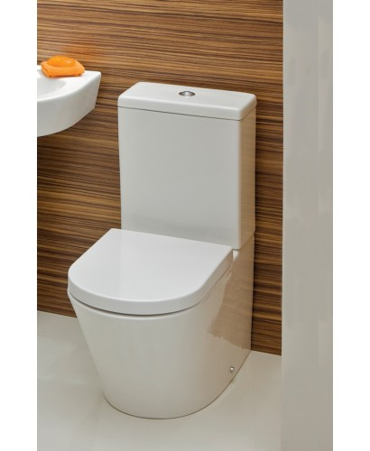 Evoque Close Coupled Toilet & Soft Close Seat