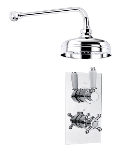 VIRGO Dual Control Shower Valve & Fixed Head