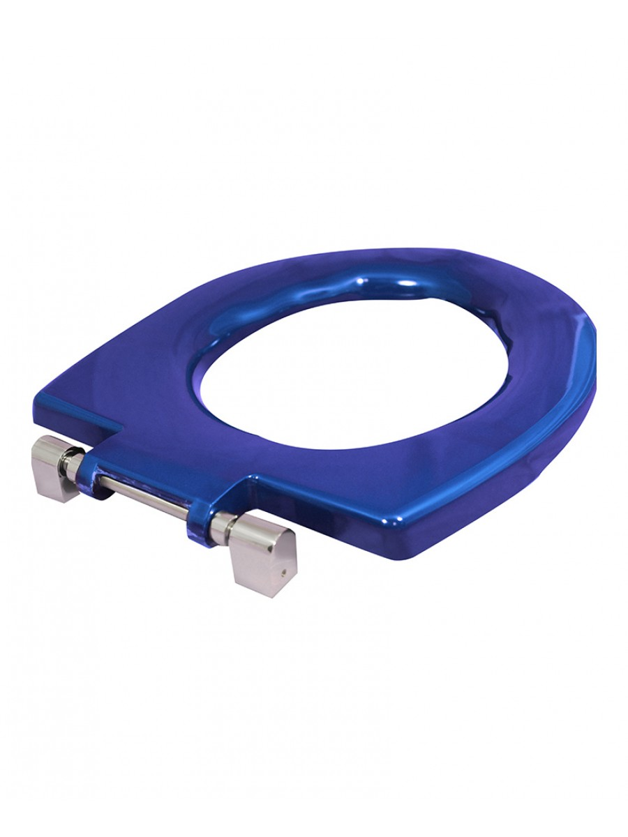 Avalon Seat Ring Blue Top Fix Steel Hinge