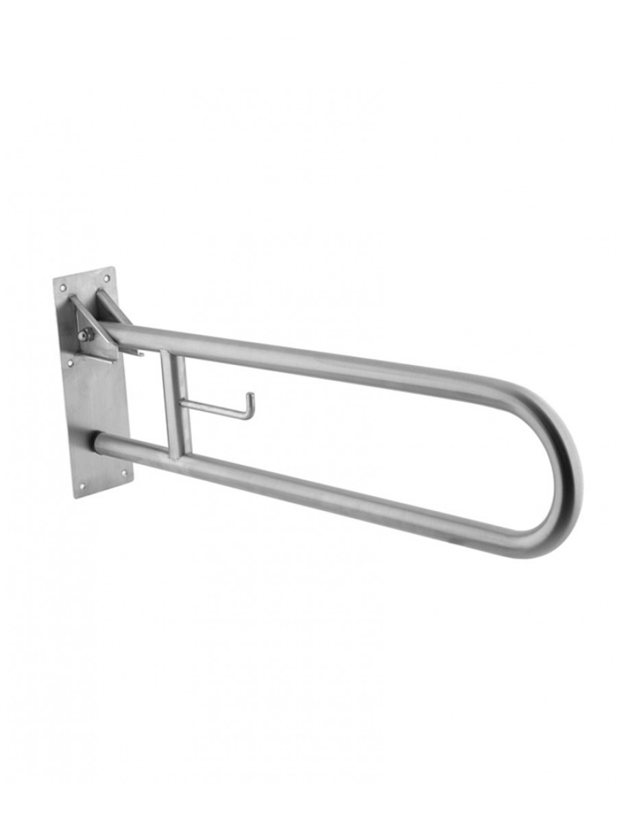 Mediclinics Hinge Support Swing Up Bar Stainless Steel