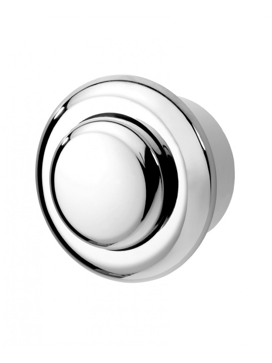 Single Flush Air Button Stainless Steel
