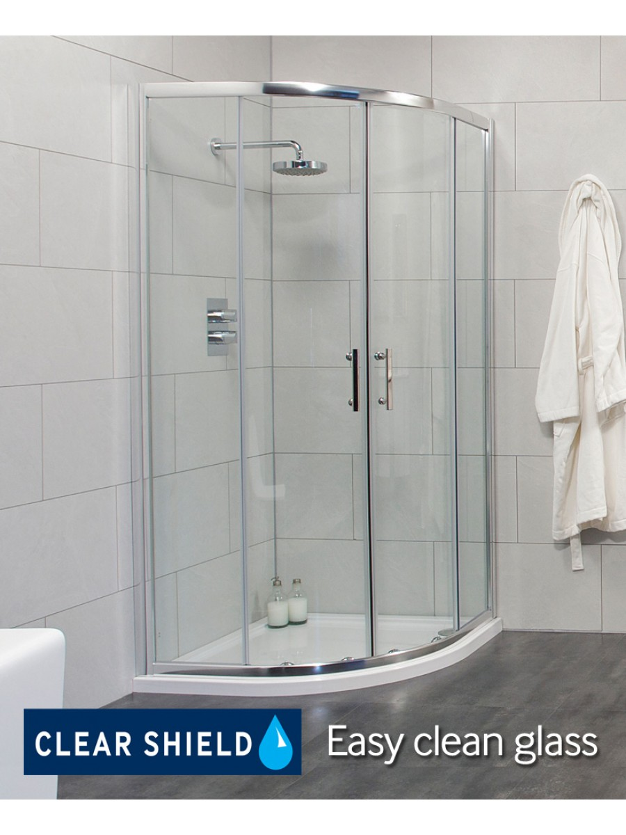 City 800 Quadrant Shower Enclosure - Adjustment 765-790mm