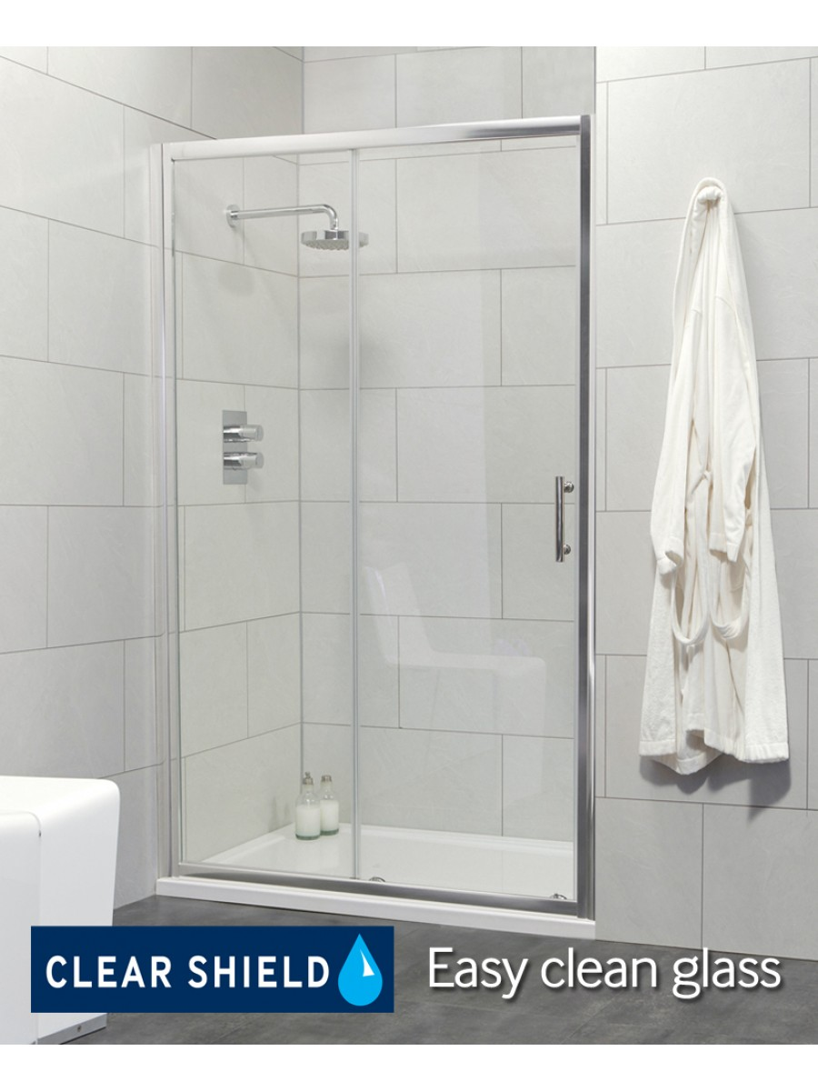 City 1200 Sliding Shower Door -  Adjustment 1140-1190mm