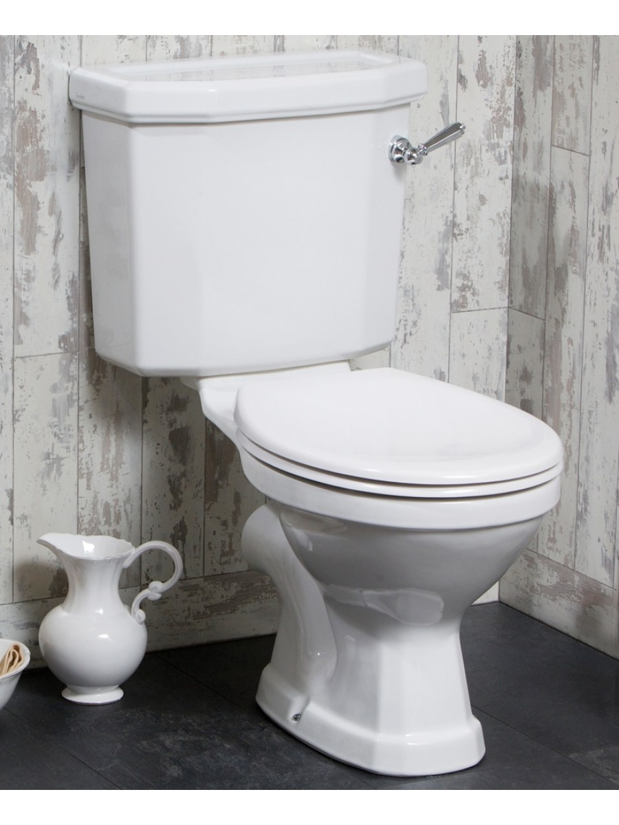 Twyford Clarice Close Coupled Toilet & Soft Close Seat