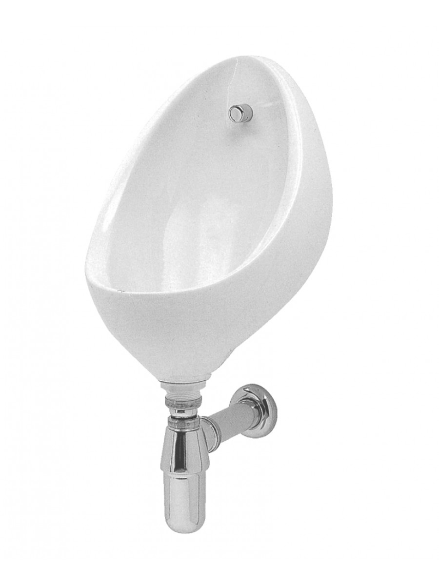 Clifton Urinal Bowl Pack 1 - Use With Exposed Pipework