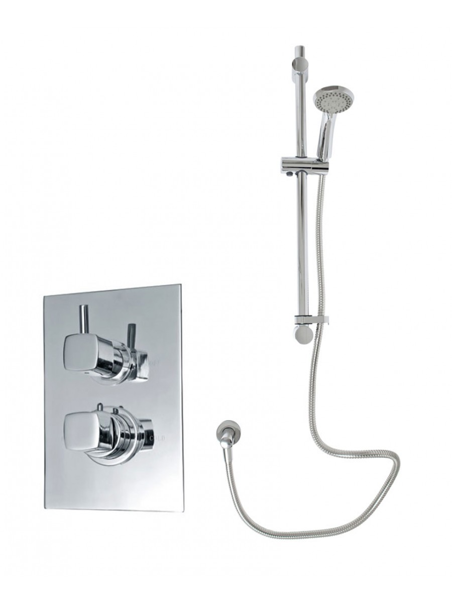 Celso Thermostatic Shower Kit 1