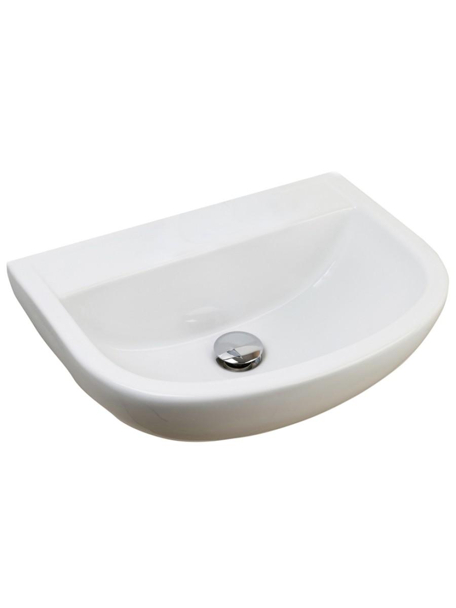 Compact Medical 500 Washbasin No Tap Hole