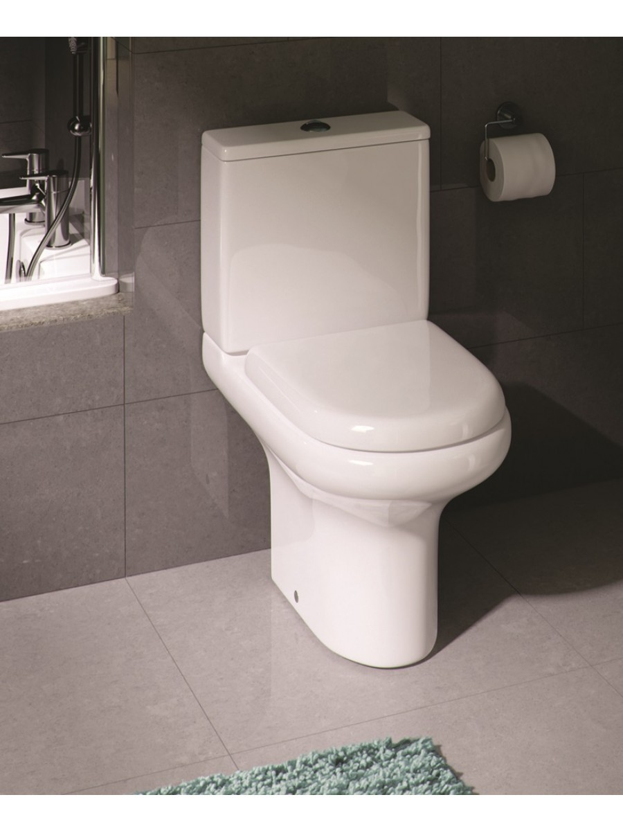 Compact Close Coupled Toilet & Soft Close Seat - * Special Offer