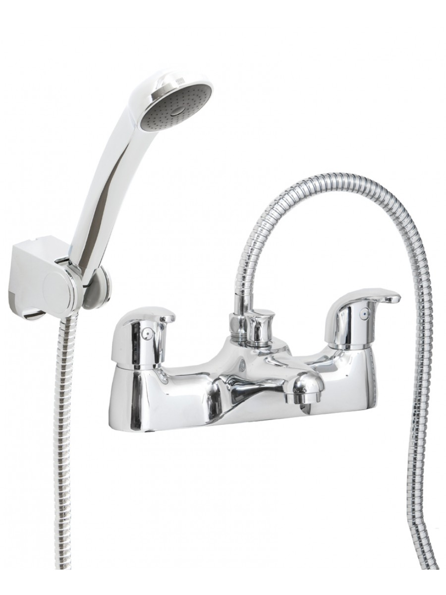 Cosmos Deck Mounted Bath Shower Mixer