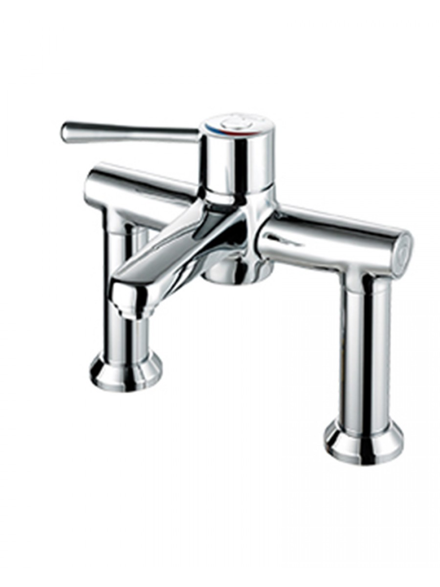 Caremix H3 Thermostatic Sequential Deck Mixer Standard Lever