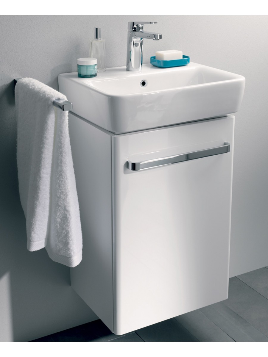 E200 550 White Vanity Unit Wall Hung