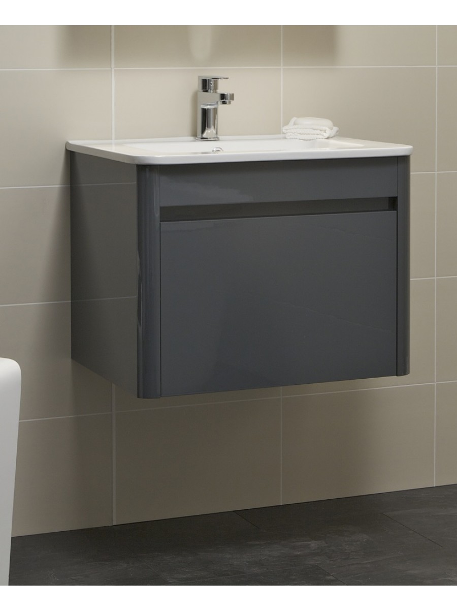 Ella 60cm Anthracite Vanity Unit and Basin