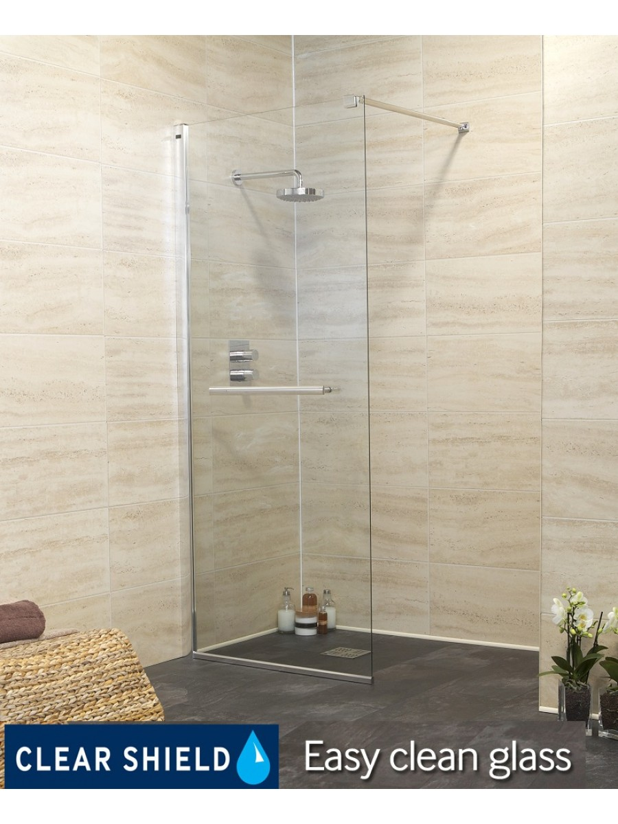 Revive 800 Wetroom End Panel