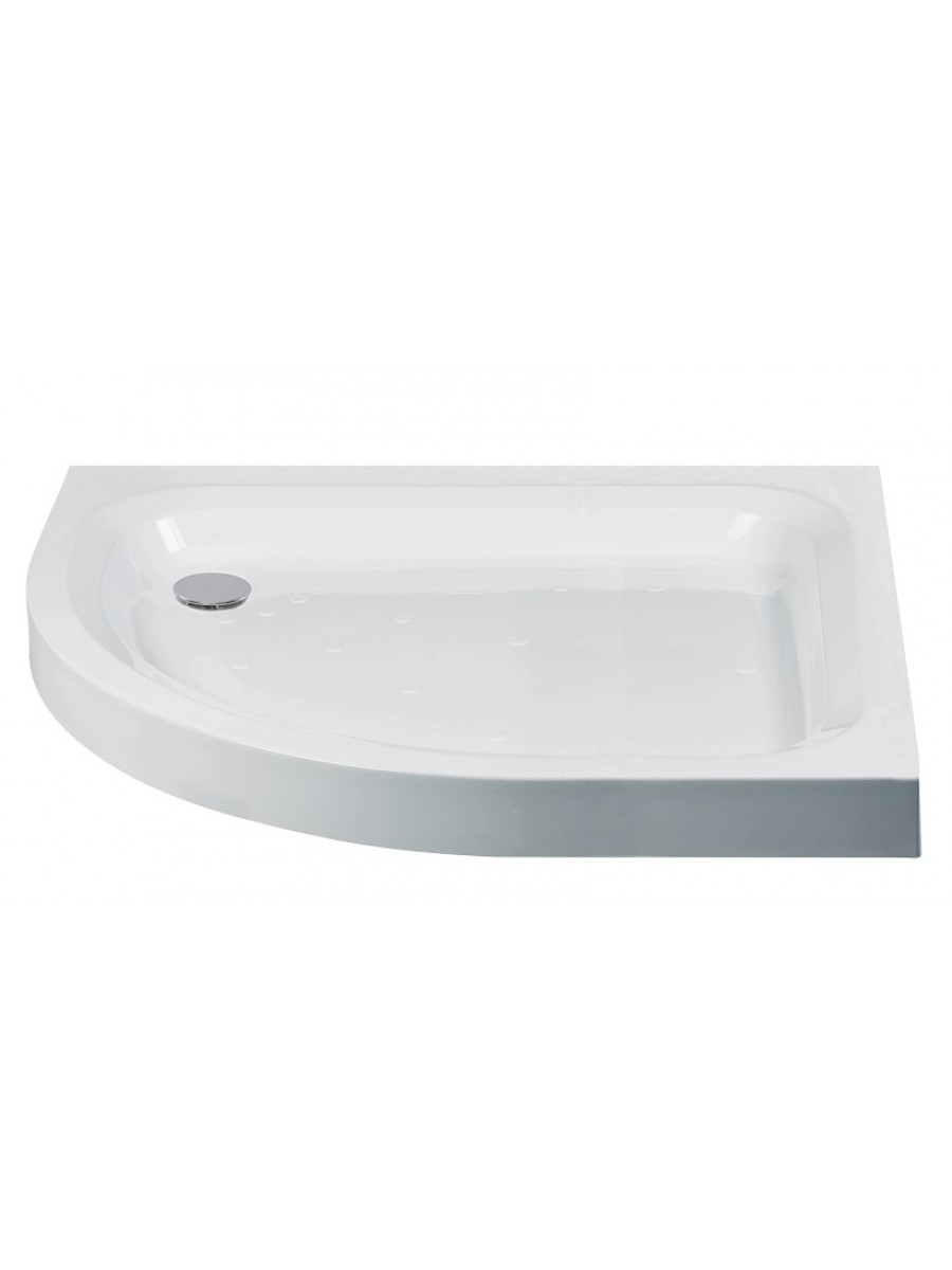 JT Ultracast 1000x800 Offset Quadrant Shower Tray LH