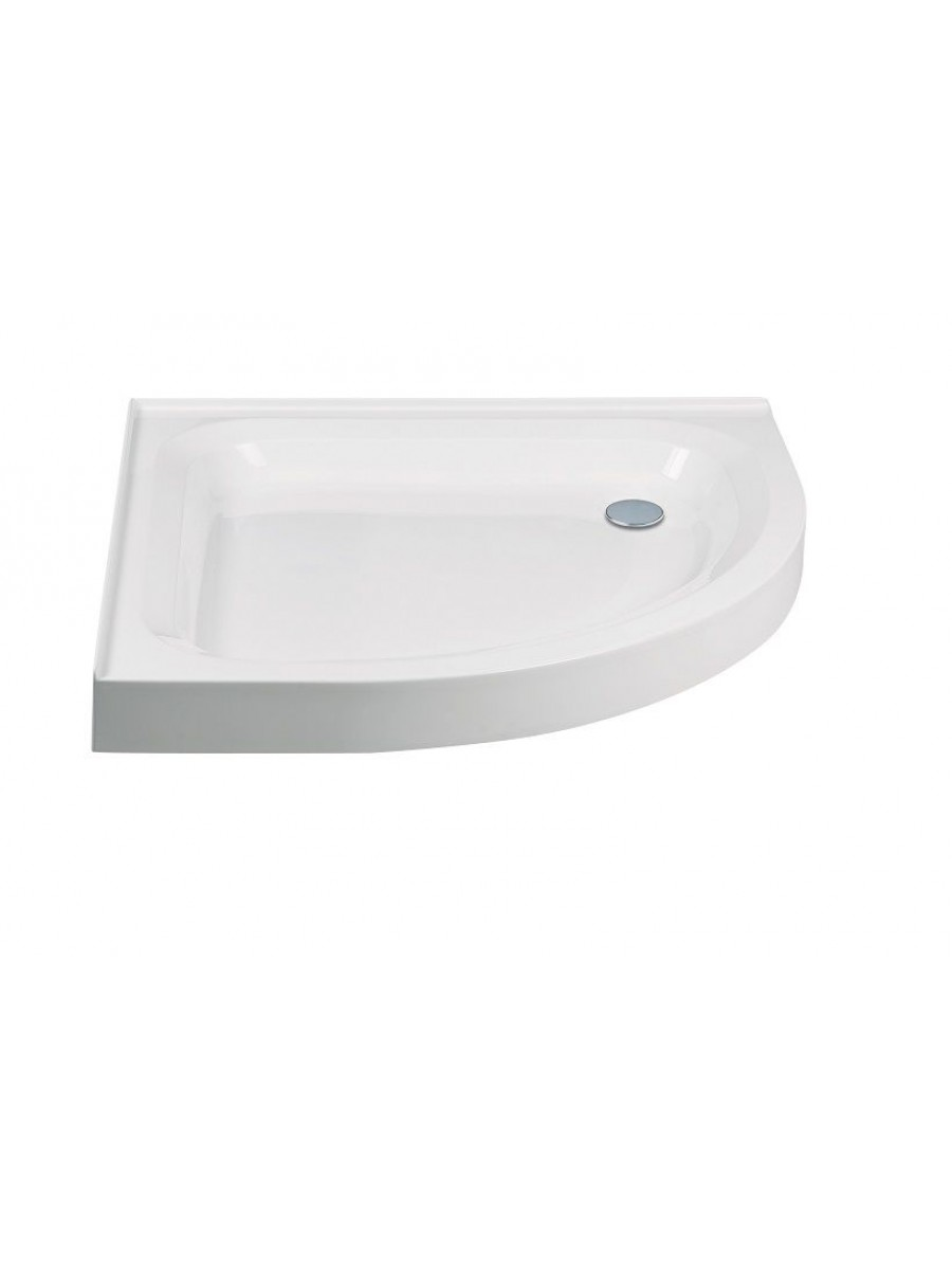JT Ultracast 800 Quadrant 2 Upstand 550 Radius Shower Tray