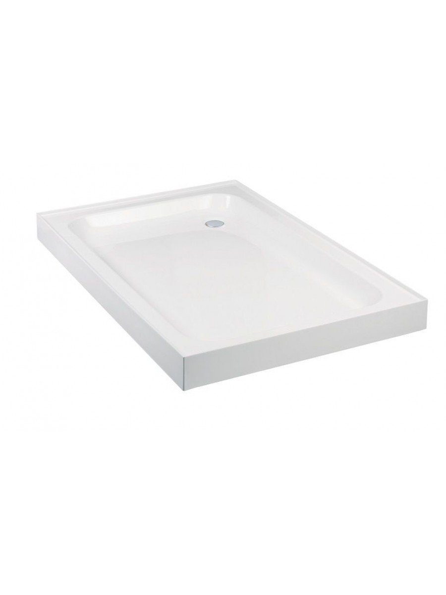 JT Ultracast 1000x800 Rectangle 4 Upstand Shower Tray