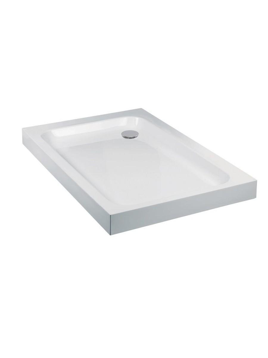 JT Ultracast 1000x900 Rectangle Shower Tray