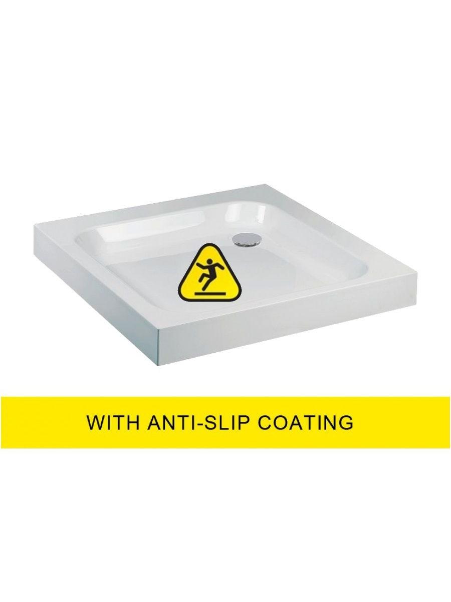 JT Ultracast 1000 Square Shower Tray - Anti Slip