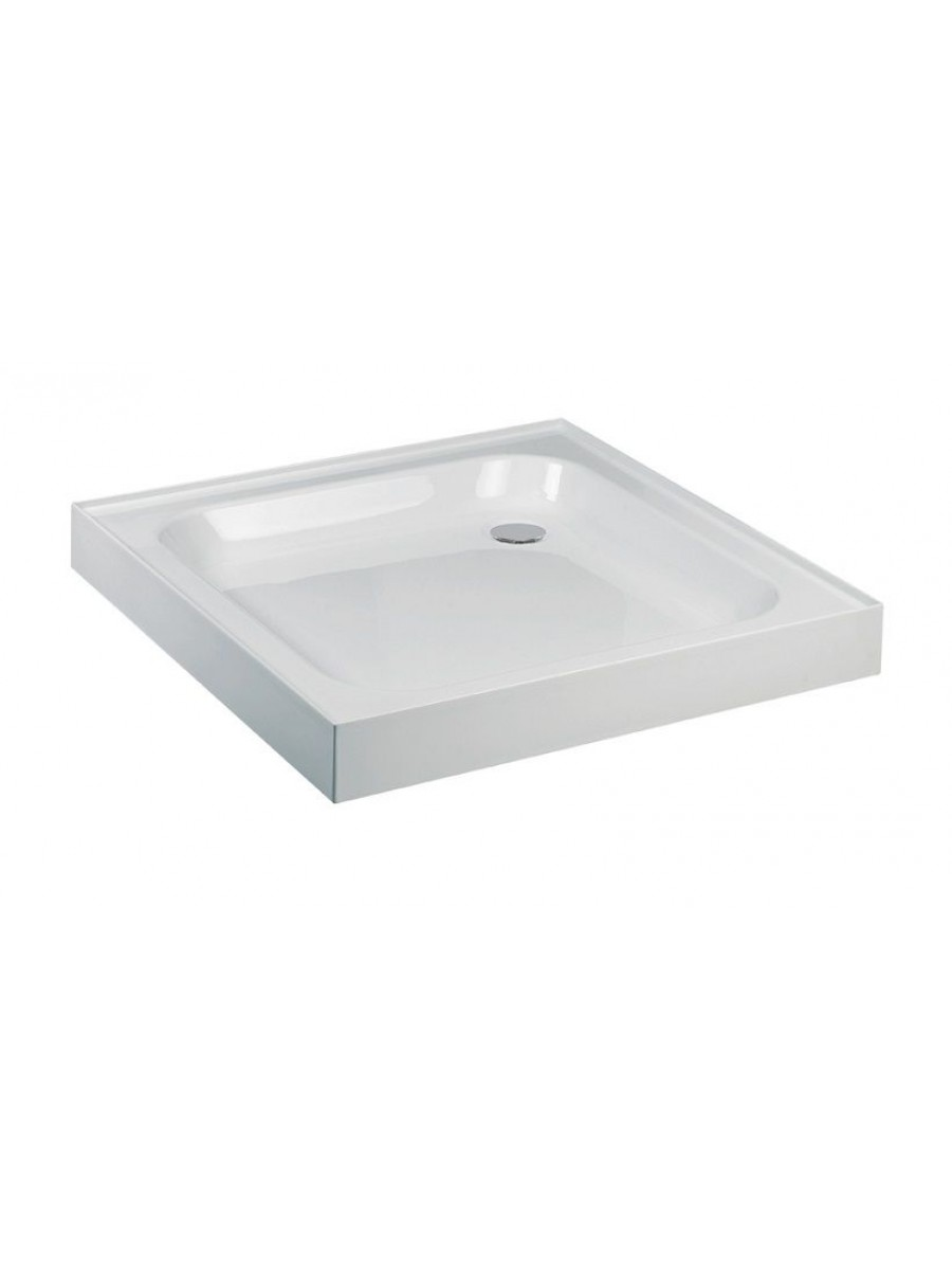 JT Ultracast 760 Square Shower Tray  Upstand