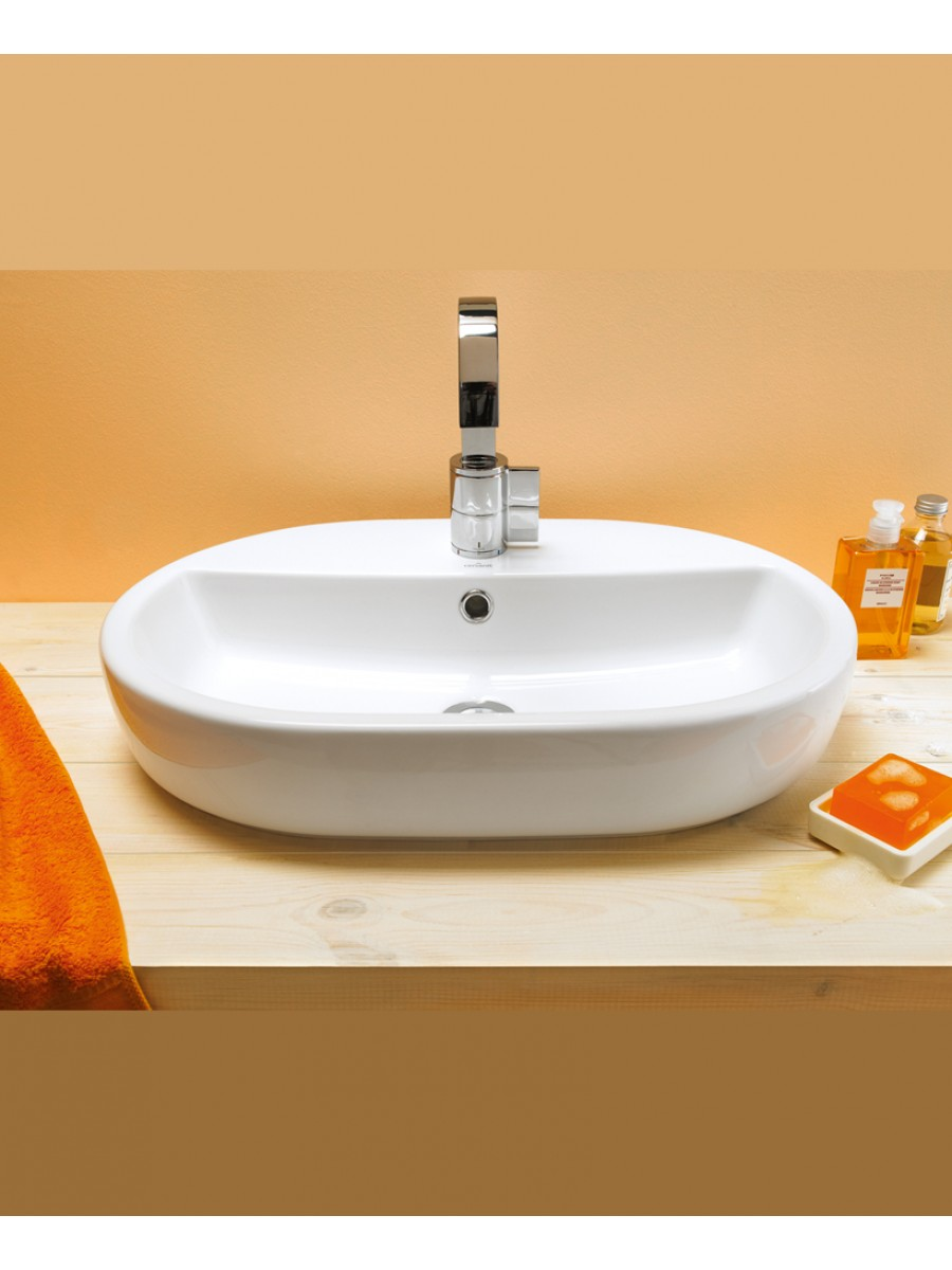 Caspia Countertop Basin Oval