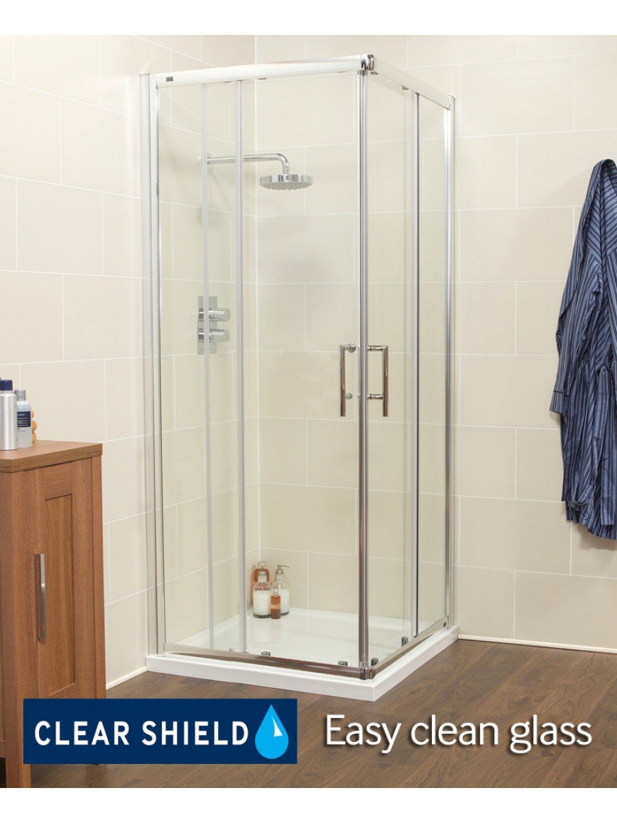 K2 800 Corner Entry Shower Enclosure