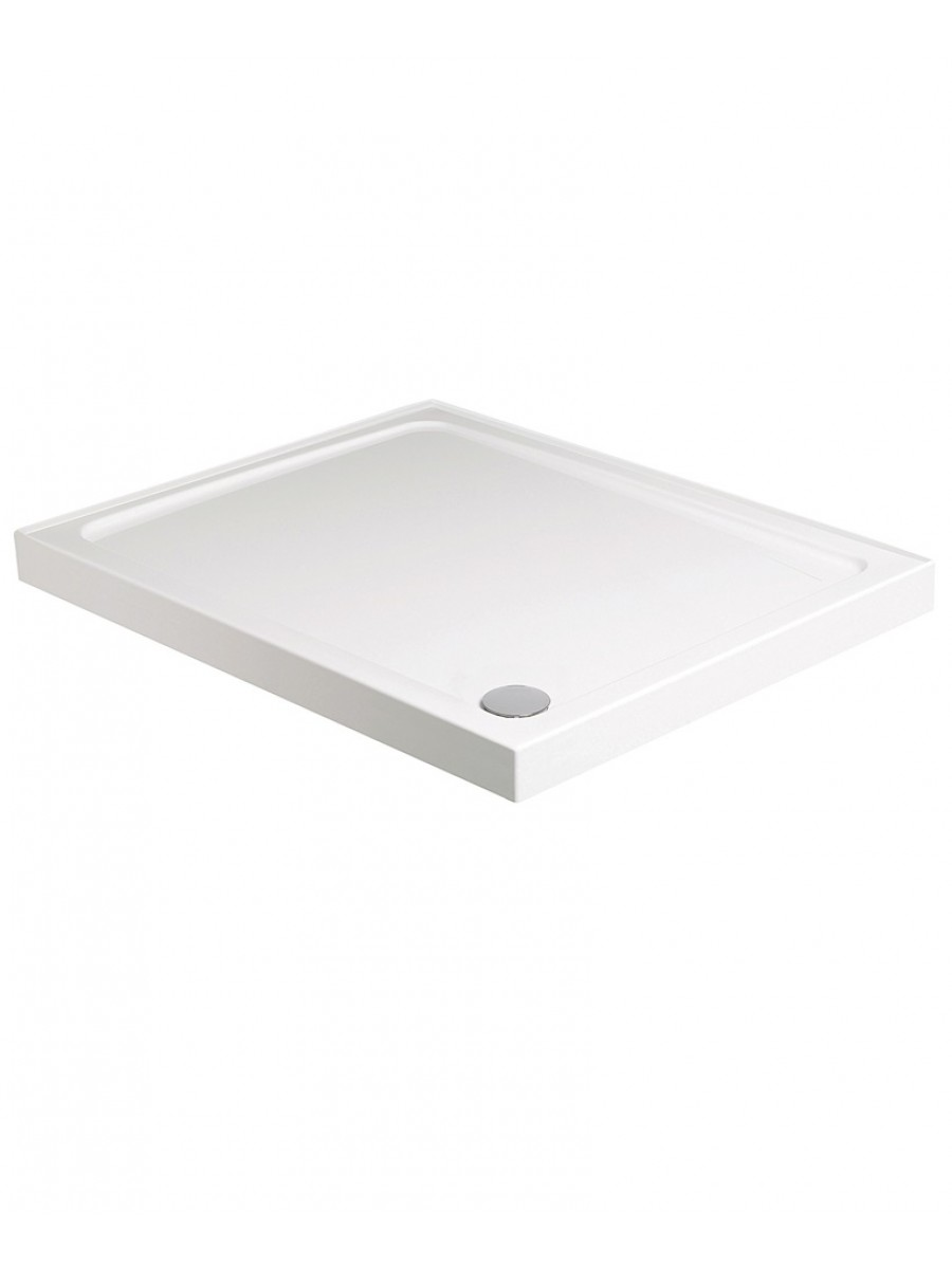 Kristal Low Profile 1600X800 Rectangle Shower Tray Upstand  with FREE shower waste