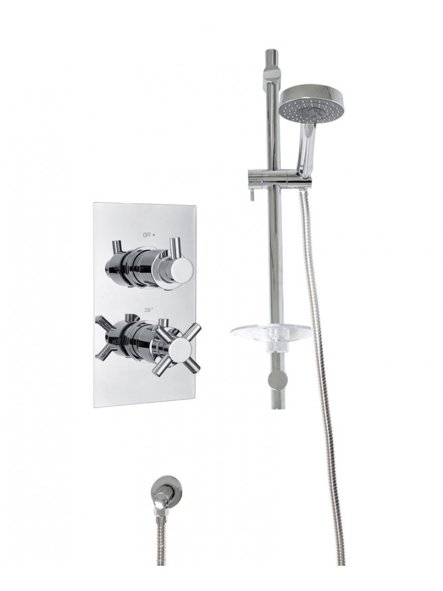 LIBRA Dual Shower Valve & Marine Slide Rail Kit