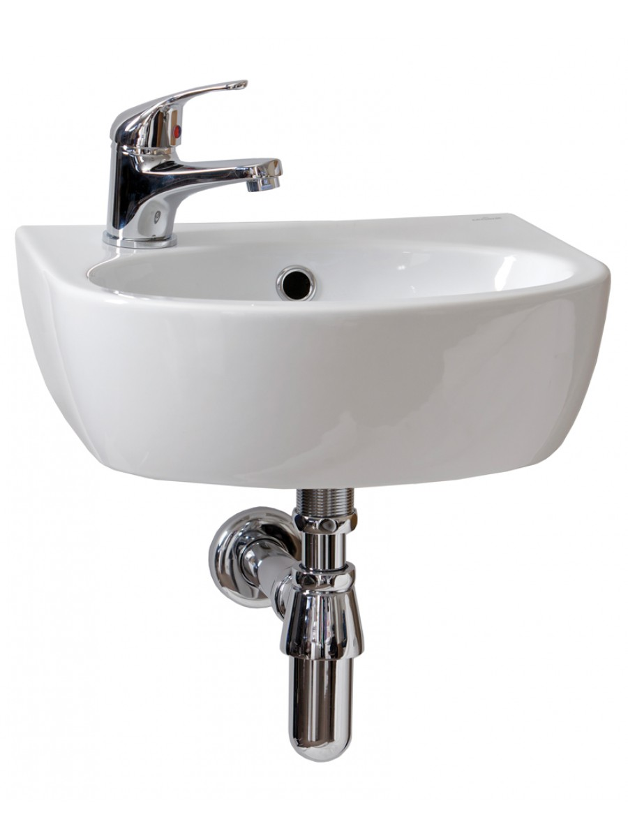 Parva Handrinse 40cm Basin LH (1TH) with Tap - *Special Offer