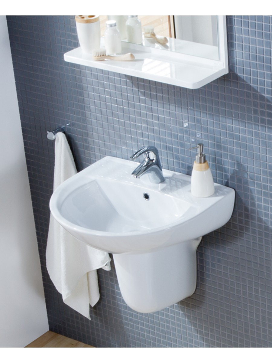 ... Pedestal - Wash Basin with Semi Pedestal - Wash Basins - Bathroom