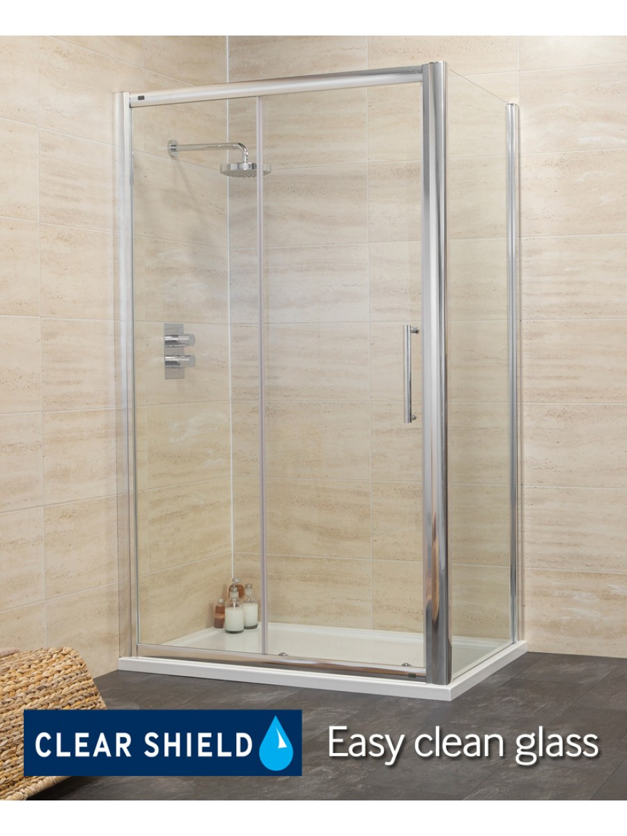 Revive Range 1500 Sliding Shower Enclosure