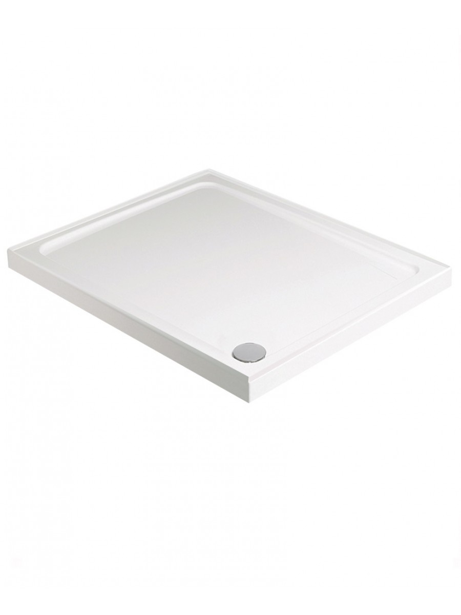 Kristal Low Profile900  Square  4 Upstand  Shower Tray with FREE shower waste