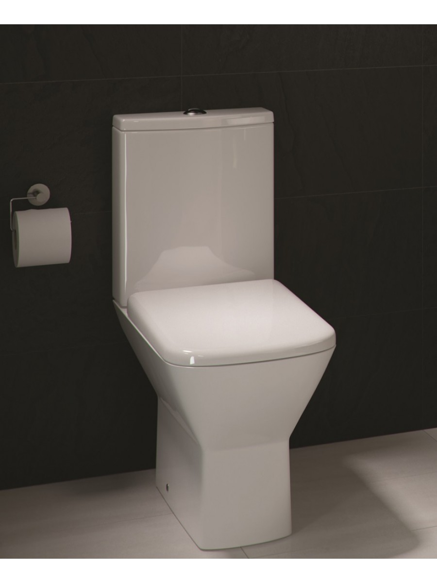 Summit Close Coupled Toilet and Soft Close Seat