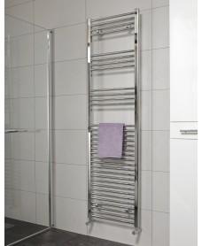 Straight 1800x500 Heated Towel Rail Chrome