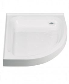 JT Ultracast 1200x800 Offset Quad Upstand Shower Tray RH